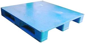 FAP-1212-168川字型密面四向插塑膠棧板