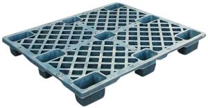 FOW-1210-130九腳套疊型塑膠棧板