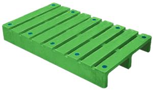 FSP2-1006-127川字網面二向插塑膠棧板
