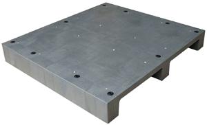 FSPR2-1110-140川字密面二向插塑膠棧板