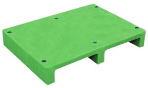 FSPR2-9065-130川字密面二向插塑膠棧板