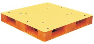 FXHPR-1212-156田字密面型塑膠棧板